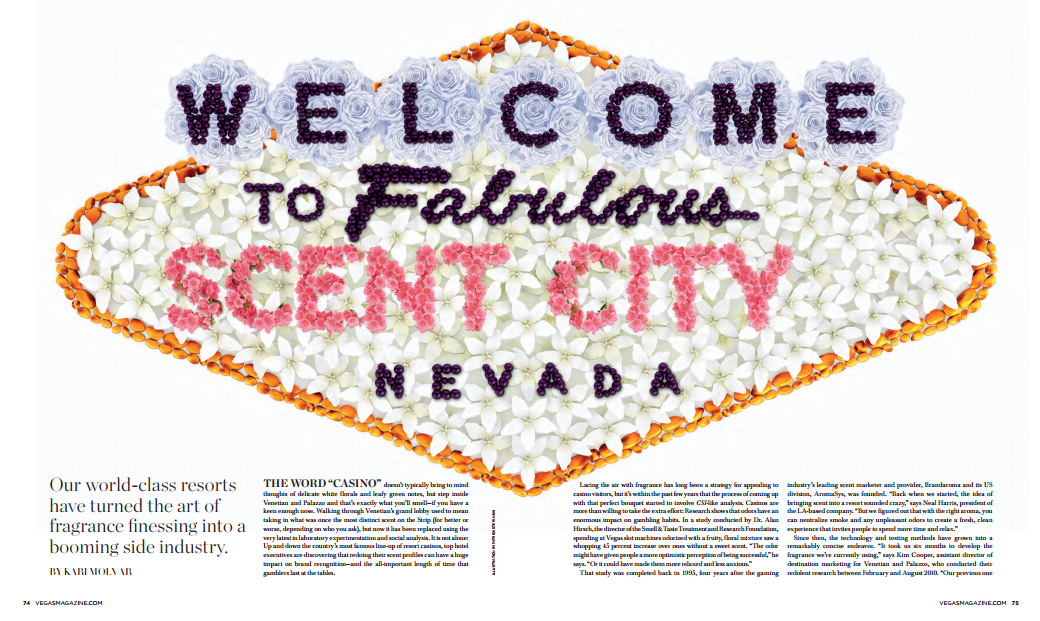 Scent City. Vegas Feb. 13